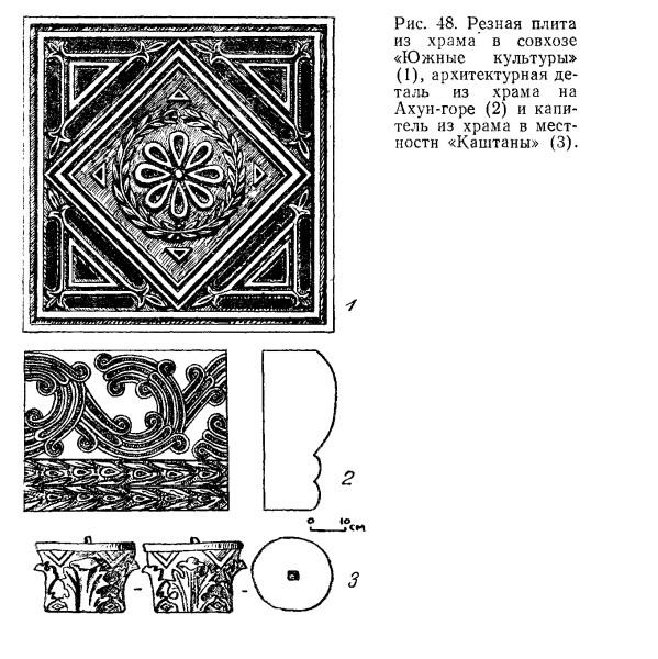 плита 2 из Южных культур в книге Воронова