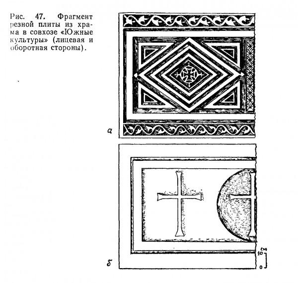 плита из Южных культур в книге Воронова