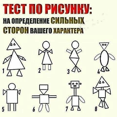 Психологический тест рисуем