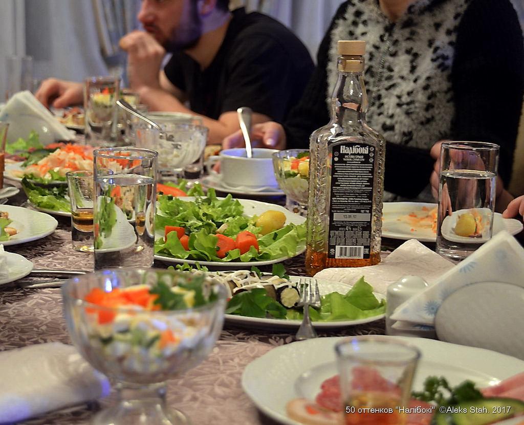 Нет богатства за столом, если нету Налибок
