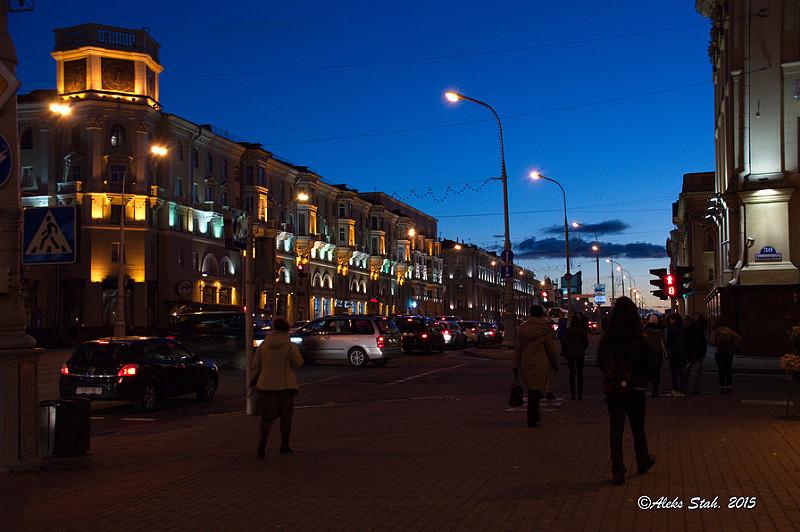 Вечерний город 03