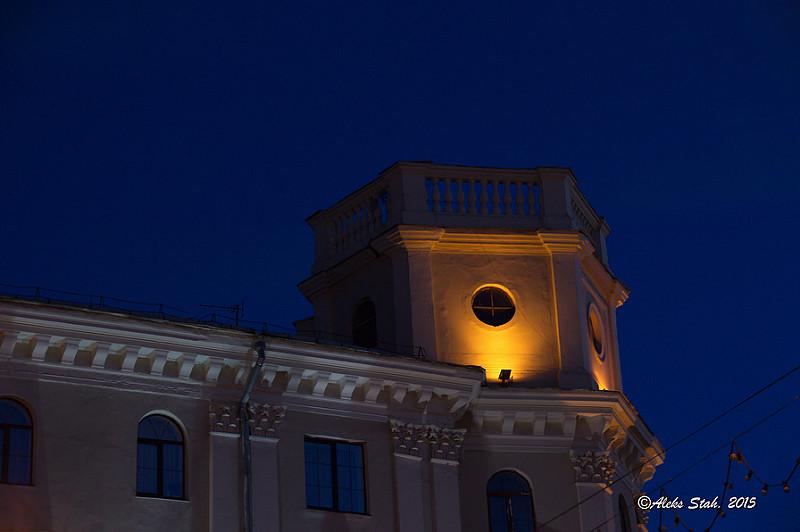 Вечерний город 02
