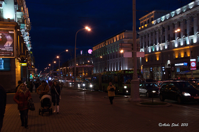 Вечерний город 04
