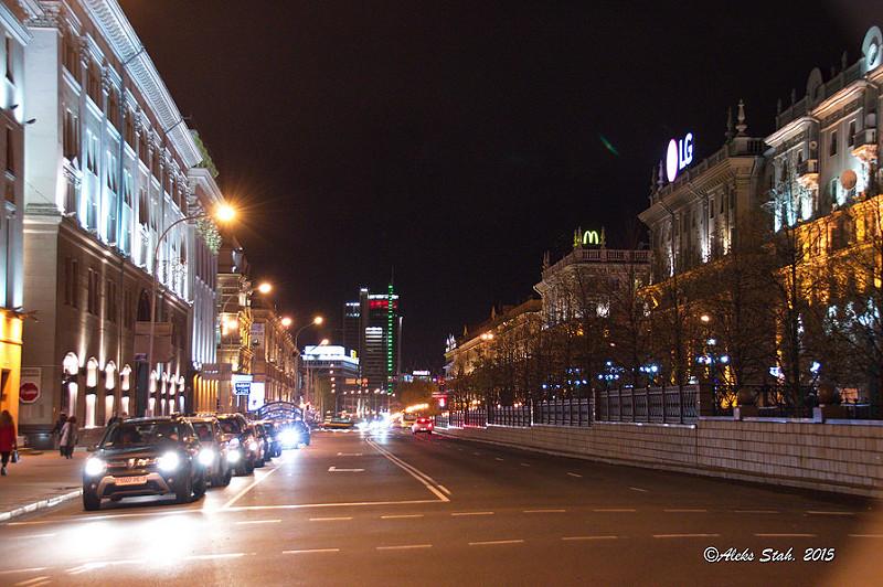 Вечерний город 07