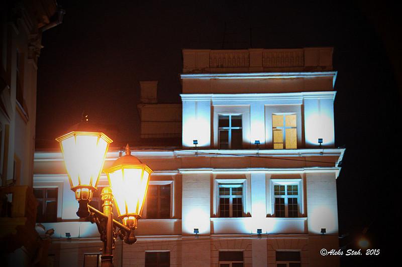 Вечерний город 09