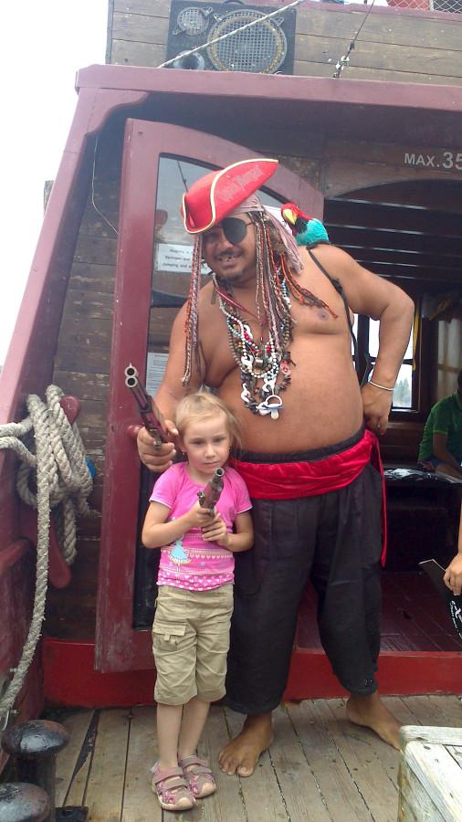 пират саша и любка