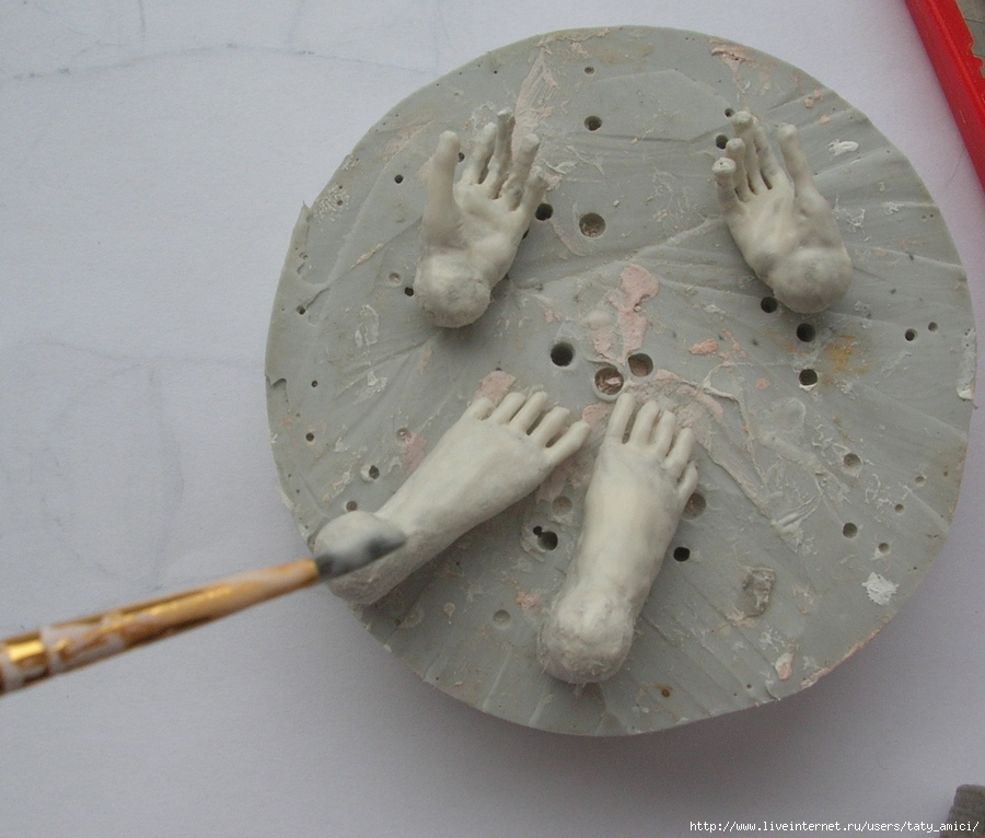 Сделать шарнирную куклу своими руками папье маше