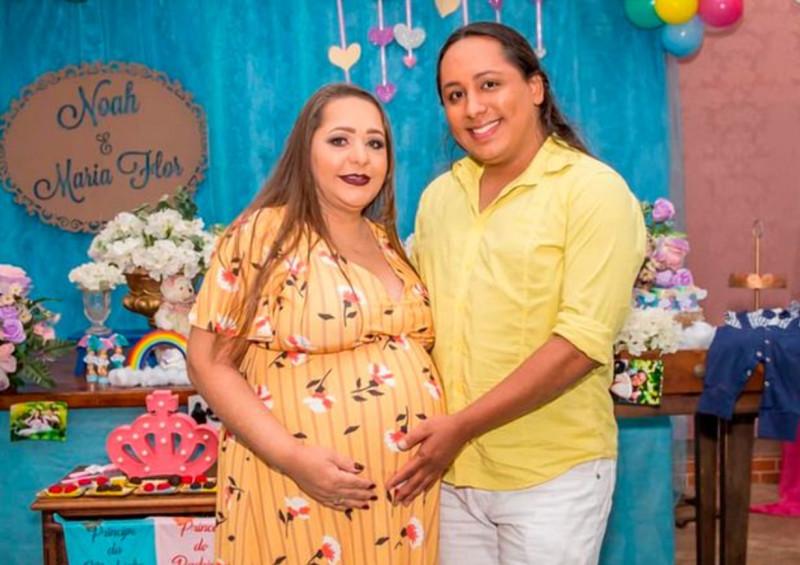 Фото: CEN / @ juninhosnow / Марсело и его мать Вальдира /