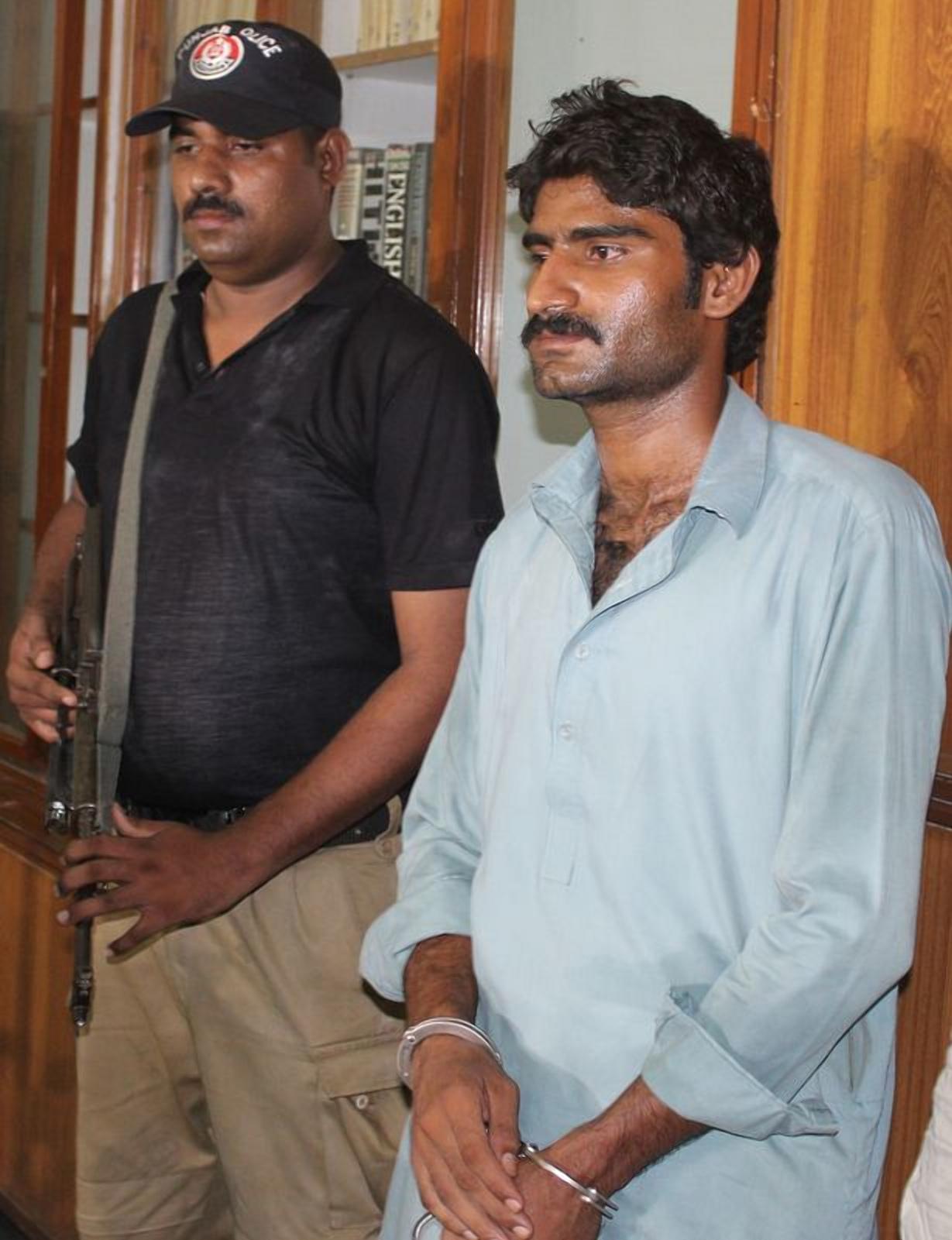 Фото: FAISAL KAREEM / EPA-EFE / REX / Мухаммед был признан виновным в убийстве и приговорен к пожизненному заключению /