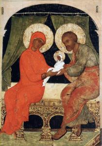 св. Иоаким и св. Анна с младенцем Марией
