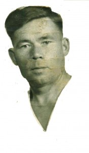 дедушка Саша в августе 1945 г