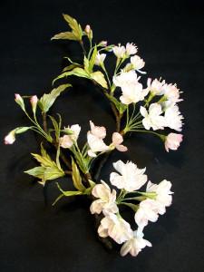 Цветы из ткани шляпки от алёны