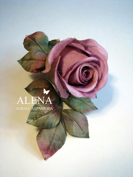 Живые цветы из ткани мастер класс срезаные цветы купить киев