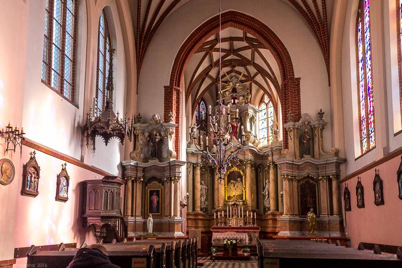 Касцел Святой Ганны. Інтэр'ер.jpg