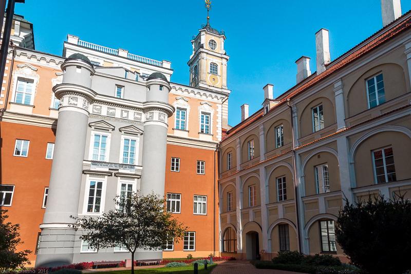 Віленскі універсітэт. Двор абсерваторыі.jpg