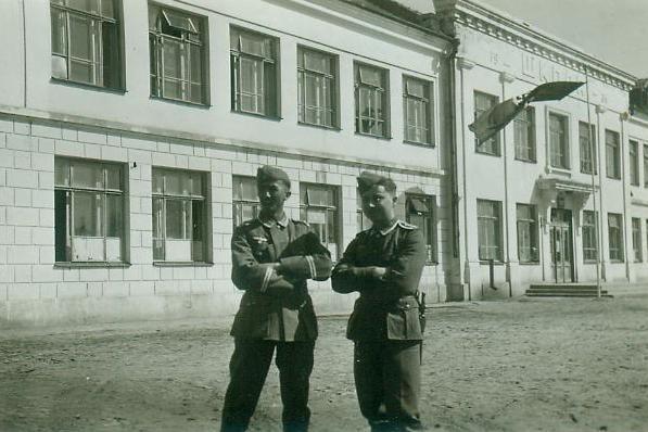 Новые фото периода немецкой оккупации Бобруйска