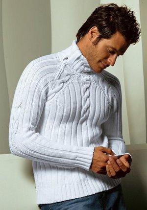 По запросу Вязаные мужские свитера.