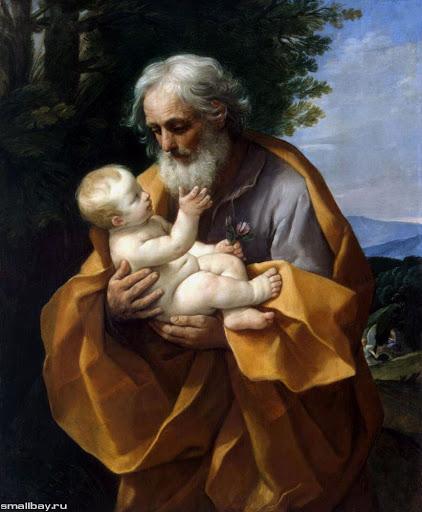 """Иосиф и младенец Иисус"", Рене Гвидо"