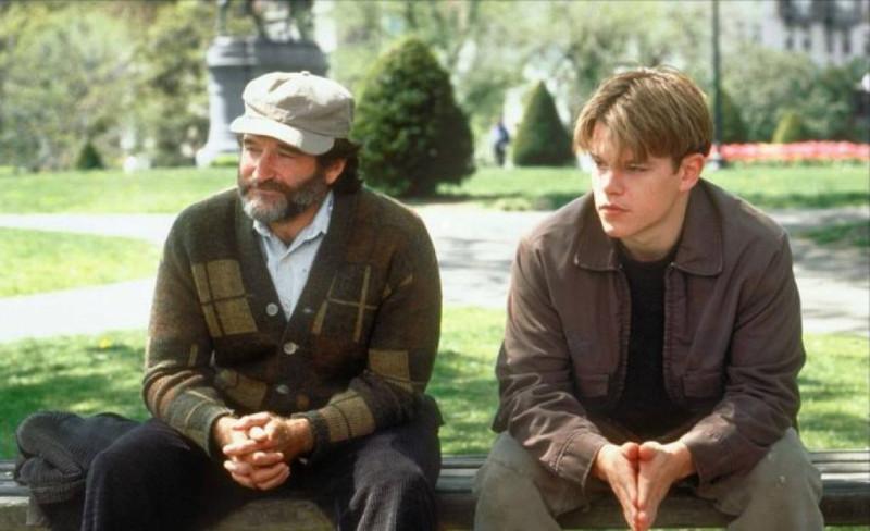"Кадр из фильма ""Умница Уилл Хантинг"", 1997"