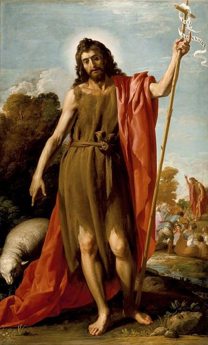 """""""Св. Иоанн Креститель в пустыне"""" Хосе Леонардо"""