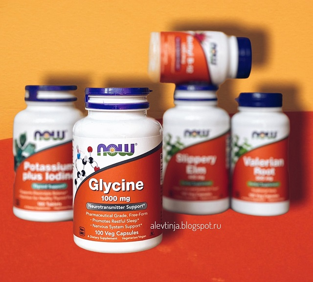 Глицин от Now Foods