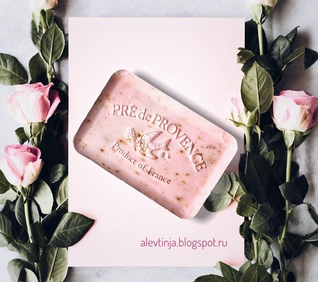 European Soaps, Мыло Pre de Provence с лепестками роз