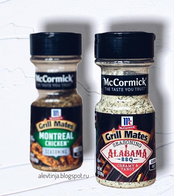 Неожиданное применение McCormick Grill Mates, Alabama BBQ Seasoning