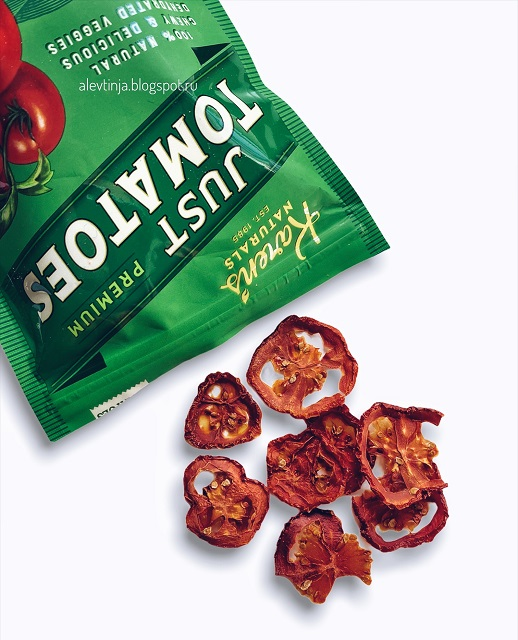 Сушёные томаты от Karen's Naturals + РЕЦЕПТ