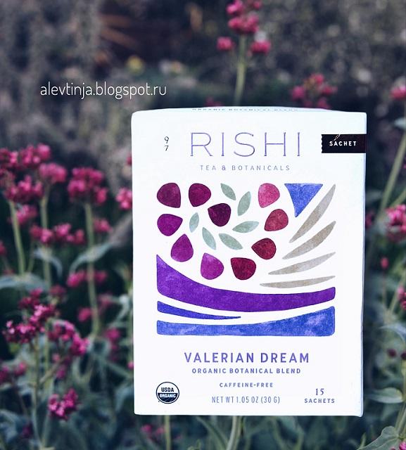 Rishi Tea, Organic Botanical Blend, Valerian Dream