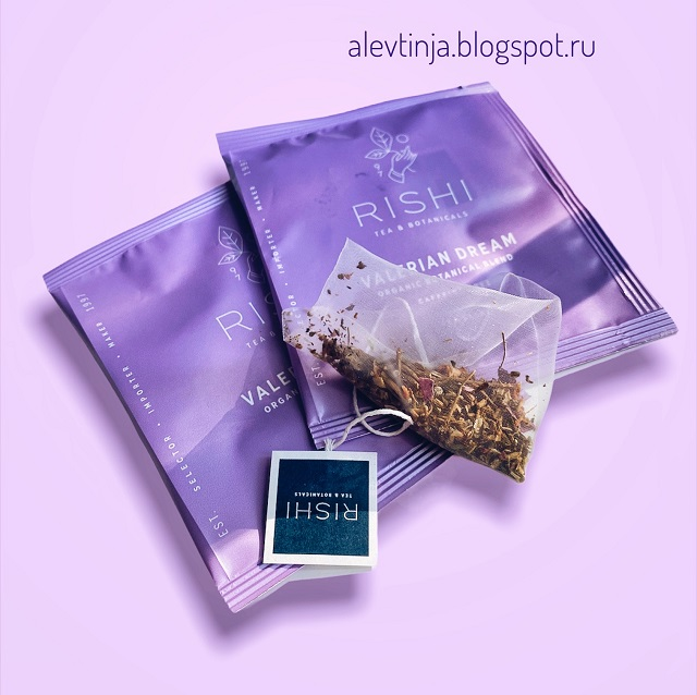 Любовь случилась не сразу - Rishi Tea, Organic Botanical Blend, Valerian Dream