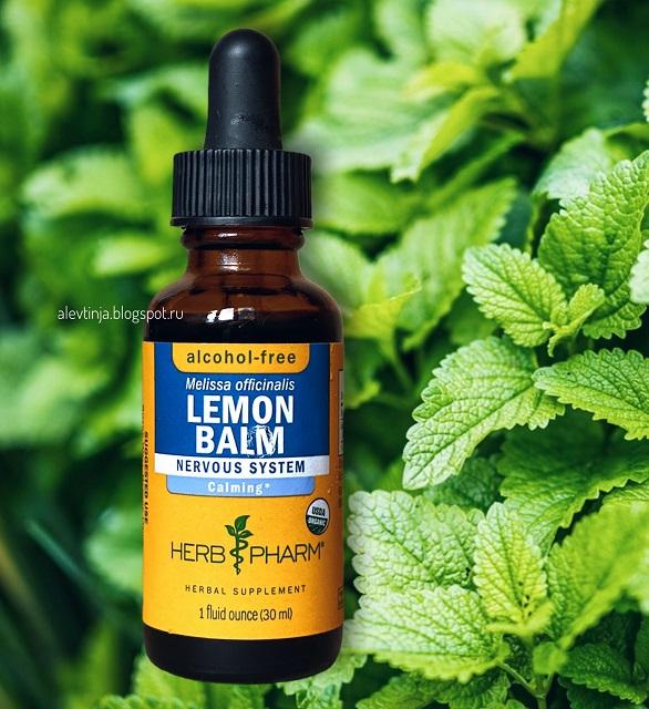 Herb Pharm, Лимонный бальзам, без спирта