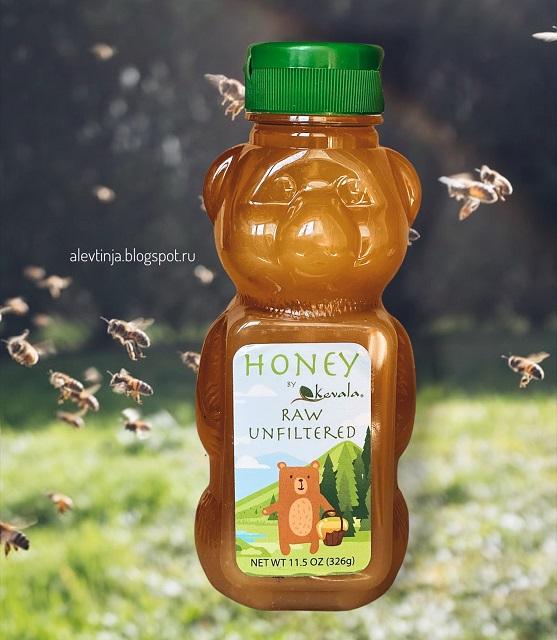 Новинка! Сырой нефильтрованный мёд от Kevala
