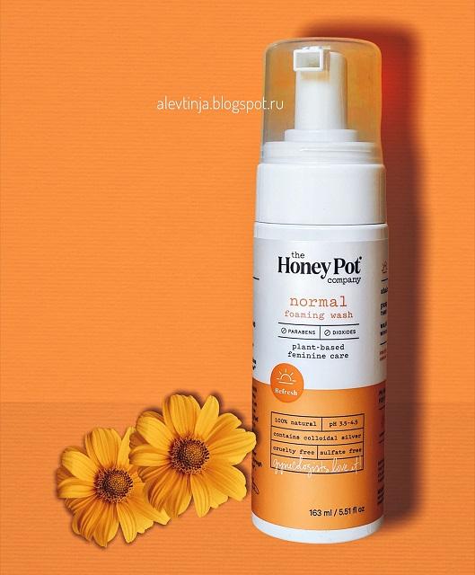 The Honey Pot Company , очищающая пена для нормальной кожи