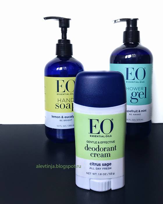 EO Products, Deodorant Cream, Citrus Sage
