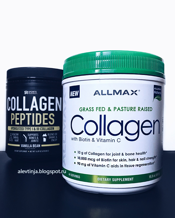 ALLMAX Nutrition, Grass Fed & Pasture Raised Collagen with 10,000 mcg Biotin + 90 mg Vitamin C