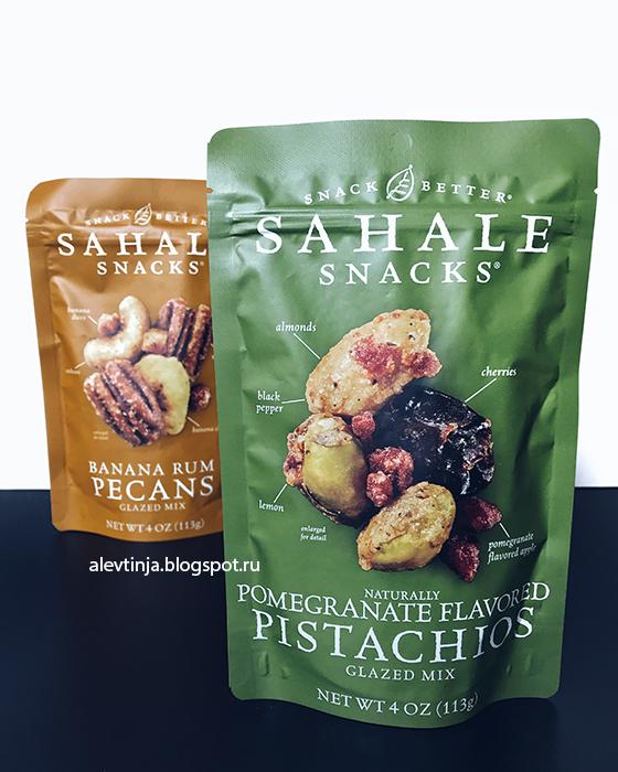 Sahale Snacks, Snack Better, фисташки с натуральным вкусом граната,