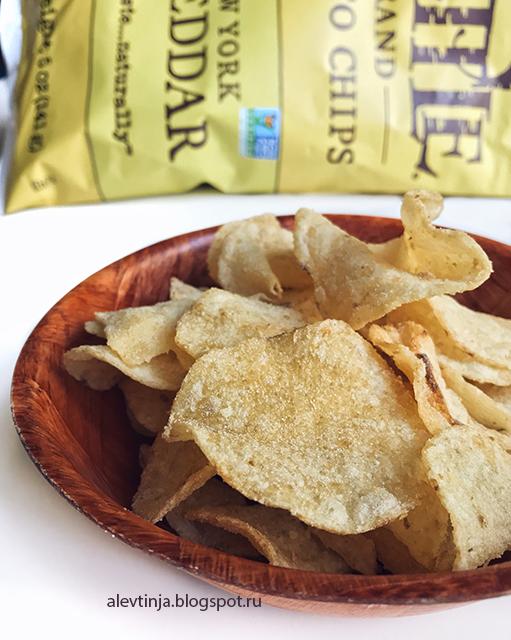 Kettle Foods, Картофельные чипсы, New York Cheddar