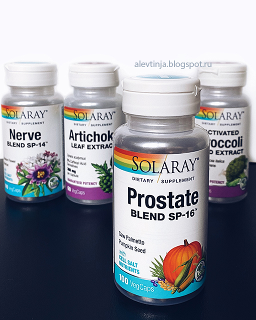 Solaray, Prostate Blend SP-16