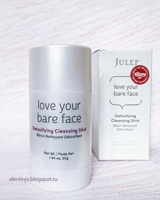Julep, Love Your Bare Face, очищающий стик для детоксикации