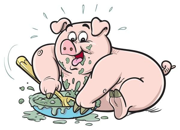 Посади свинью за стол