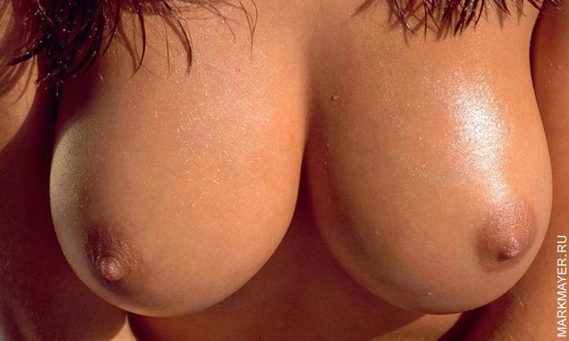 Фото большой обнаженной женской груди