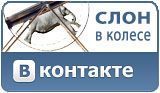Слон в колесе VKontakte