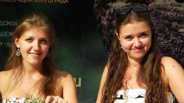 АБ-2012. Тая и Ксю.