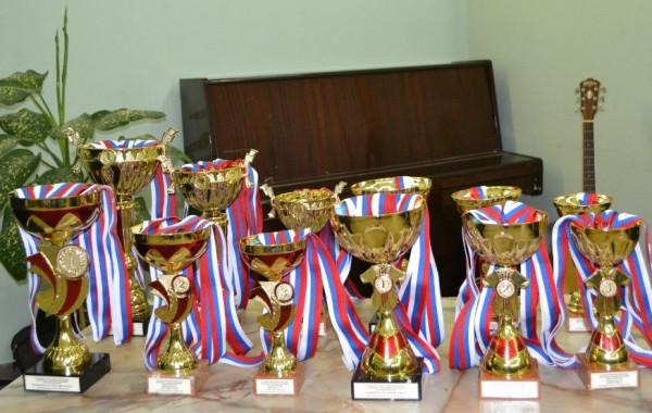 АБ-2012. Кубки и медали.