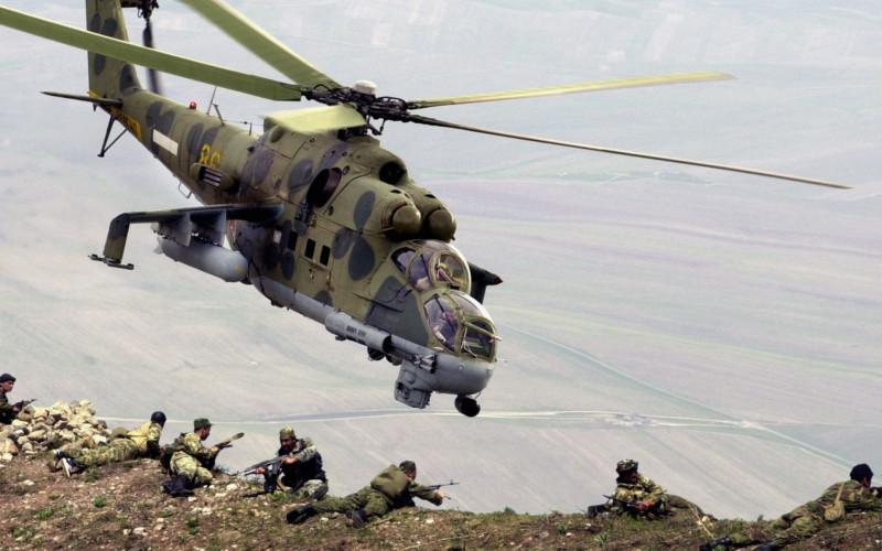 Пилон для оружия Ми-24