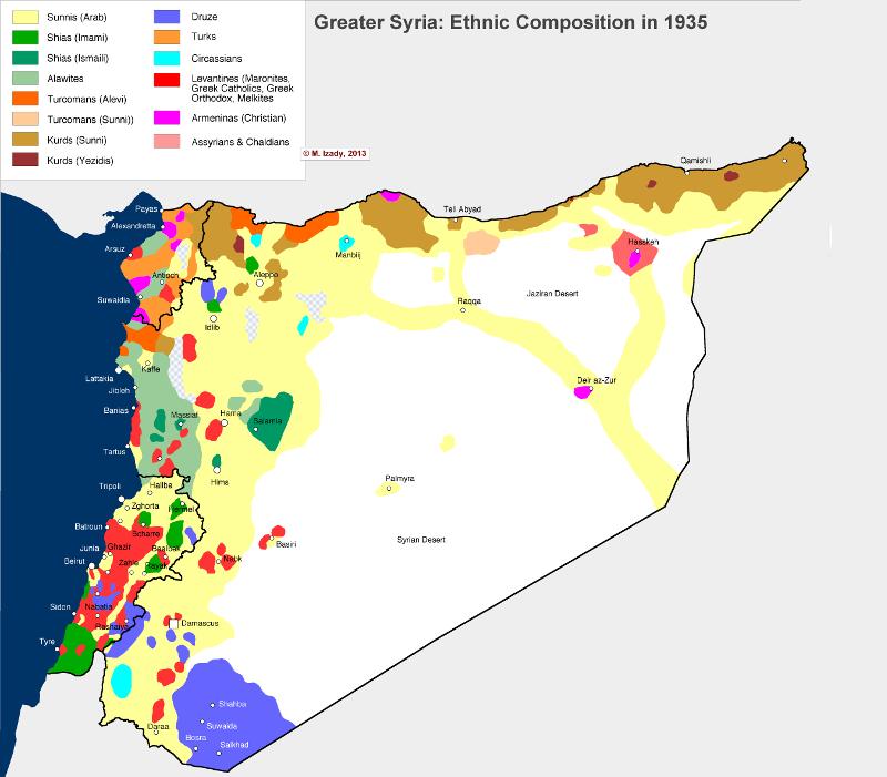 Раздел Сирии неминуем?