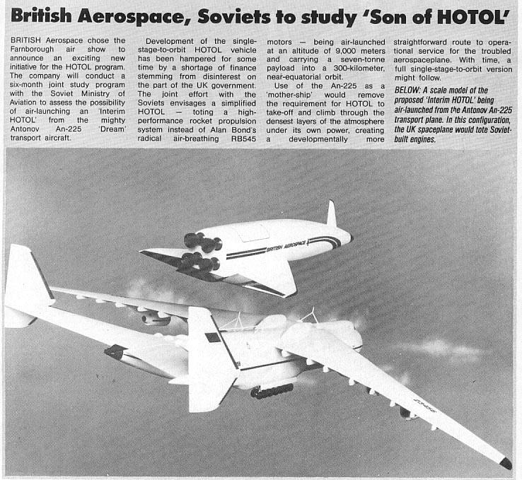 HOTOL&An-225