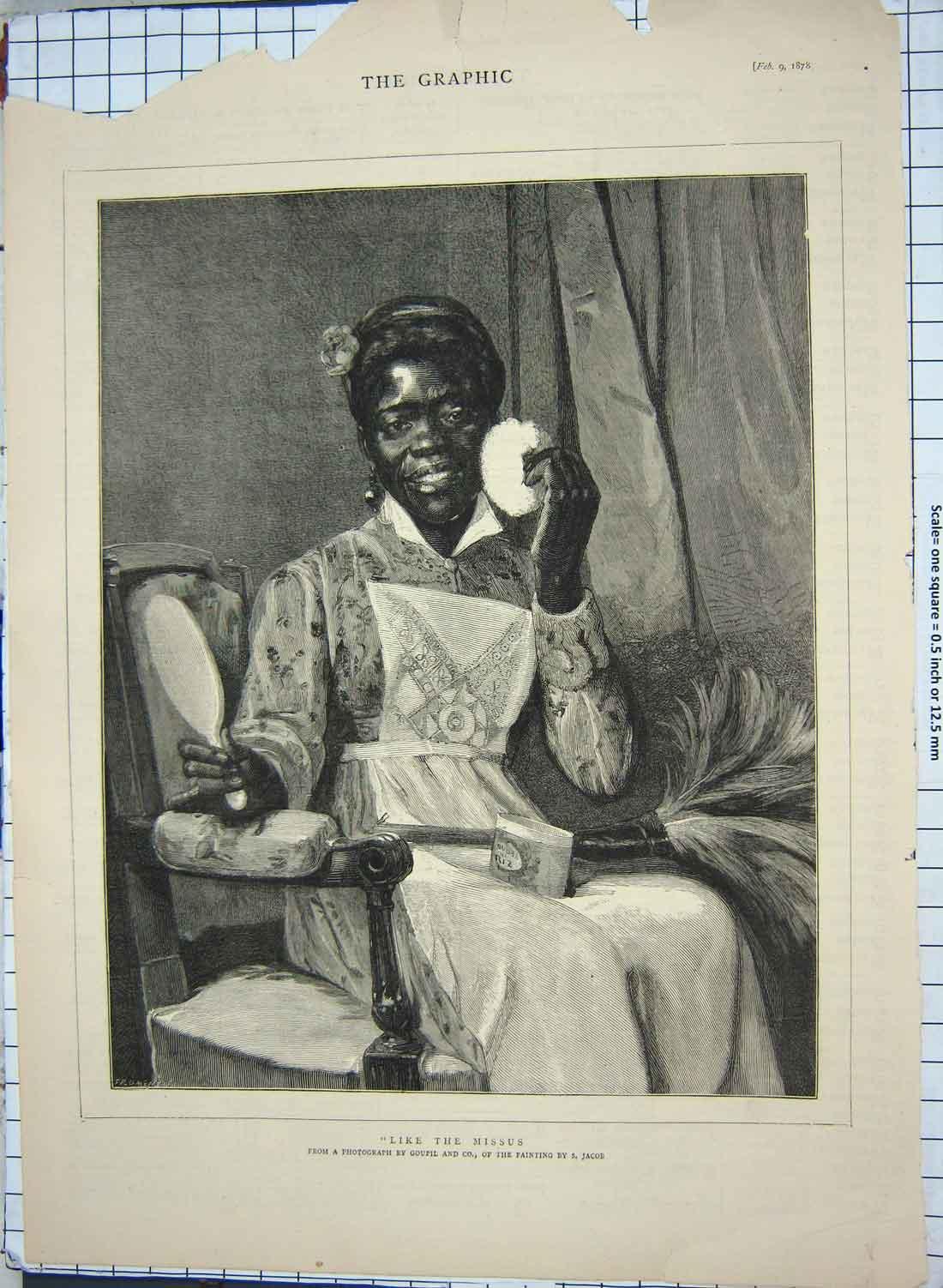 black slave maid