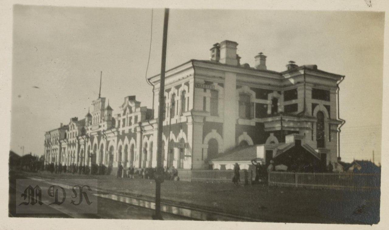 Вологодский вокзал Прингла