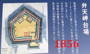 "Форт ""Бэнтэн"" (постр.1856-1864 г, Япония, о.Хоккайдо, г.Хакодате)"